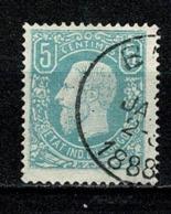 Belg. Congo/Congo Belge 1886 OBP/COB 1 Used 1888 (2 Scans) - 1884-1894 Précurseurs & Leopold II