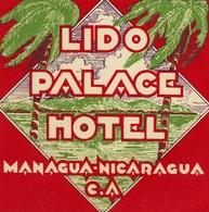 @@@ MAGNET - Nicaragua Lido Palace Managua - Pubblicitari