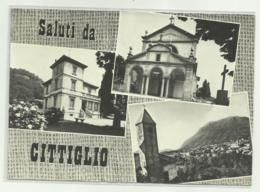 SALUTI DA CITIGLIO - VEDUTE   VIAGGIATA   FG - Varese