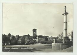 OSTIANO - PIAZZA GARIBALDI   VIAGGIATA   FG - Cremona