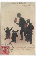 CARD CINA  PEKING OMBRE CON LAMPADA FAMIGLIA GIAPPONESE DUE SCANNER   -FP-V-2-0882-28967-968 - Chine