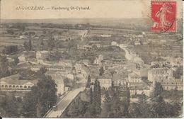 CP 16 - Angoulème -Faubourg St Cybard  Oblitération 1927 - Angouleme