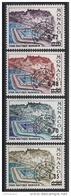 MONACO 1969 / 1975 - SERIE Du N° 34 A 37  - 4 PREO.  NEUFS** - Monaco