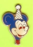 Pin's Montgolfière Mickey - 5P04 - Airships