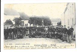 "Heinch  (Arlon)  "" Rassemblement Des Soldats Dans La Rue "" (DVD) TOP - Arlon"