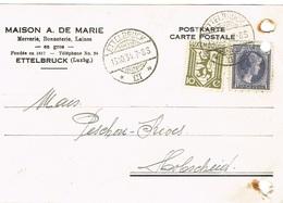 Ettelbruck (Maison A,de Marie) Mercerie,Bonneterie,Laines En Gros Fondée En1817. - Ettelbrück