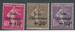 CS-19: FRANCE: Lot Avec N°266/268* (voir Scan) - France