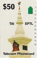 Cambodia - Telstra - Anritsu - Monument - 50$, 1992, 15.000ex, Mint - Cambodia