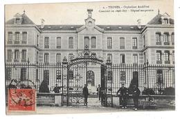 CPA  De  TROYES  (10)  -  Orphelinat Audiffred Construit En  1896-1897 -  Hôpital  Temporaire      //    TBE - Troyes