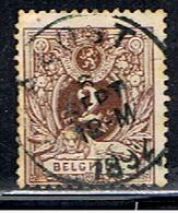 BELGIQUE 346 // YVERT 44 // 1884 - 1869-1888 León Acostado