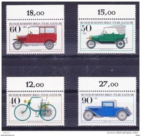 Duitsland Berlin 1982 Nr 621/24 **, Zeer Mooi Lot Krt 3631 - Timbres