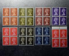 GB STAMPS   Blocks Of 4 1967-->  MNH   ~~L@@K~~ - Nuovi