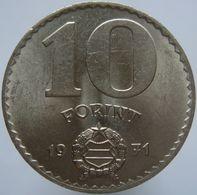 Hungary 10 Forint 1971 XF / UNC - Ungheria