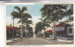 AVENIDA MARIANO AROSEMENA, BELLA VISTA, PANAMA. ROYAL INDIA KH. CPA CIRCA 1940s - BLEUP - Panama