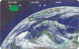 Cambodia - Telstra - Anritsu - The Earth (With Barcode, Small FV), Cn Range 28900001 - 28909999), 1993, 10.000ex, Used - Cambodia