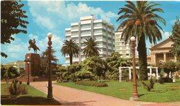 JUNIN (BUENOS AIRES) - PLAZA SAN MARTIN. ARGENTINA POSTALE CPA CIRCA 1970's NON CIRCULÉ - LILHU - Argentina