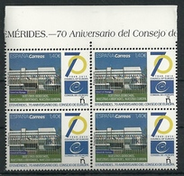 ESPAÑA 2019 - 70 Aniversario Del Consejo De Europa ** - 1931-Aujourd'hui: II. République - ....Juan Carlos I