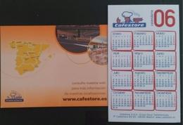 2006 - 2008. 2 CALENDARIOS ESTABLECIMIENTOS CAFESTORE. - Otros