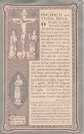 Dp  Pastor Glorieux-brugge 1819-meenen-sysseele-reckem-lombardzyde-emelghem 1891 - Devotion Images