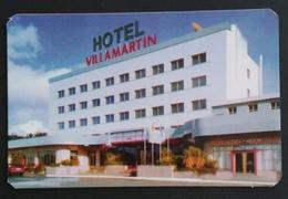 2004. CALENDARIO HOTEL VILLAMARTIN - VILLALBA (LUGO) ESPAÑA. - Hotel Labels