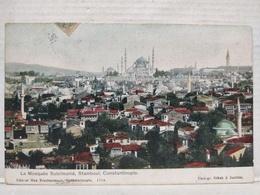 Constantinople. La Mosquée Suleïmanié - Turquie