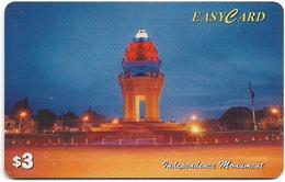 Cambodia - Camitel - Easycard - Independence Monument, 3$, Used - Cambodia