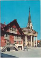Dornbirn, Rotes Haus Mit Kirche - Vorarlberg - Dornbirn