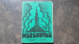 Boekje Herentals Tijdschrift 1e Jaargang Dec 1934 Nr 3 ( Begijnhof , Lodewijk De Koninck ) - Herentals
