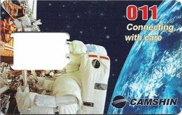 Cambodia - Camshin - Astonauts And Space, GSM No Sim As Pic. - Kambodscha