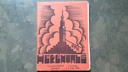 Boekje Herentals Tijdschrift 1e Jaargang Febr 1935 Nr 4 (stadspoorten , Kempische Dorpjes , Jacob Smits , Dirk Baksteen - Herentals