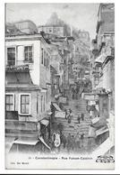CONSTANTINOPLE / RUE YUKSEK-CALDIRIN - Edition Bon Marché - Turquia