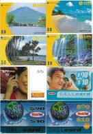 Cambodia - Lot Of 52 Various Different Prepaids With Various Sizes - Cambodia