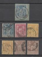 Algérie, Petit Lot D'oblitérations D'Algérie Sur SAGE - Algérie (1924-1962)