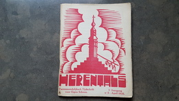 Boekje Herentals Tijdschrift 1e Jaargang Febr 1935 Nr 5 (AA En Nete, H Kruisberg Meerhout Drosssaardhuis ) - Herentals