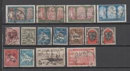 Algérie, Petit Lot De Timbres Perforés - Algérie (1924-1962)