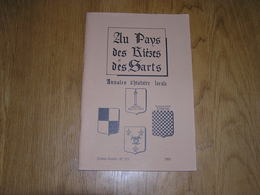 AU PAYS DES RIEZES & DES SARTS N° 123 Régionalisme Hergé Tintin Père Gall Chimay Maubert Cerfontaine Famille Moreau - Champagne - Ardenne