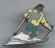 Pin's Démons Et Merveilles Ski Skieur (2) - Sport Invernali