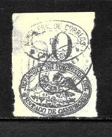 505 - MEXICO - 1876 - CAMPECHE ISSUE - FORGER?' - FAUX? - FAKE? - FALSOS? - Timbres