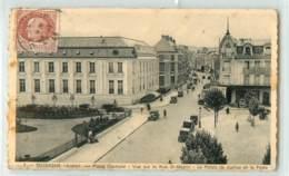 29759 - SOISSONS - CPSM - PLACE CENTRALE / VUE SUR LA RUE ST MARTIN - Soissons