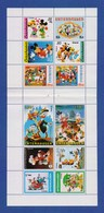 Walt Disney Entenhausen Block Mit 12 Briefmarken Donald Duck, Goofy, Micky Mouse (3) - Disney