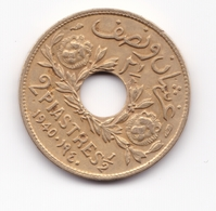 Lebanon,2 1/2 Piaster 1940 - Libano