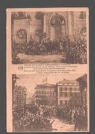België / Belgique / Brussel / Bruxelles - Entrée De Léopold I à Bruxelles Le 21 Juillet 1831 / Entrée De Léopold II... - Histoire