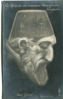 TURKEY Turquie Archimboldesque - Abdul Hamid - Die Medizin Des Kranken Mannes Aus Bosporus Political Postcard Env. 1908 - Turkije