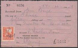 2d 1935 WHARE ON 1947 RECEIPT - 1907-1947 Dominion
