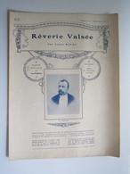 PARTITION RÊVERIE VALSÉE LOUIS RIVAL 23,5 X 31,5 Cm Env - Musique & Instruments