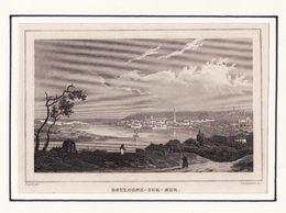 62  BOULOGNE SUR MER    Gravure Acier 1834 - Boulogne Sur Mer