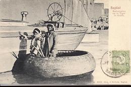 BAGDAD Embarcation Sur Le Tigre Le Gouffa N°65315 Edition Alex J Svoboda - Iraq