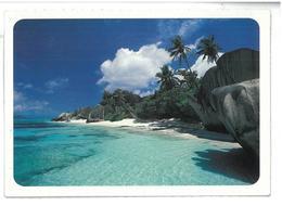 Seychelles Source D Argent Beach Indian Ocean Non Viaggiata Condizioni Come Da Scansione - Seychelles