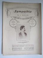 PARTITION SYMPATHIE VALSE MELODIQUE MEZZACAPO  23,5 X 31,5 Cm Env - Musique & Instruments