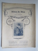 PARTITION ALMA DE DIOS CHANSON HONGROISE José SERRANO 23,5 X 31,5 Cm Env - Musique & Instruments